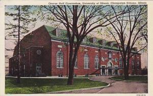 George Huff Gymnasium, University of Illinois, Champaign- Urbana, Illinois,  ...
