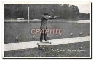 Old Postcard Pigeon Shooting