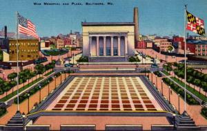 Maryland Baltimore War Memorial and Plaza