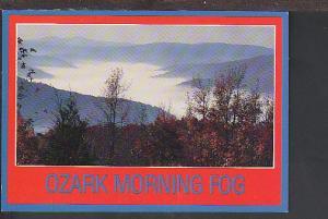 Ozark Morning Fog Postcard BIN