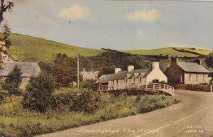 Llanrhystyd Village Welsh 1960s Postcard