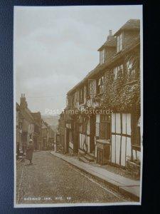 Sussex RYE The Mermaid Inn - Old RP Postcard Norman