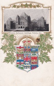 TORONTO , Ontario , Canada ,1900-10s; Ontario Parliament Buildings