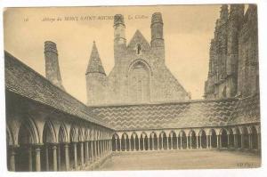 Le Cloitre, Abbaye Du Mont Saint-Michel, France, 1900-1910s