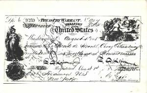 Postcard Photo of Payment to Purchase Alaska Territory from