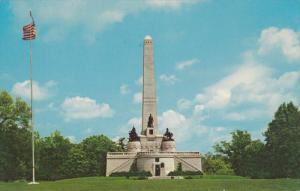 Tomb of 16th US President Abraham Lincoln, Springfield, Illinois 1940-60s