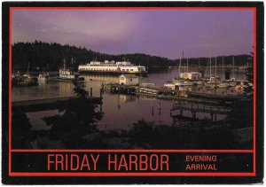 US Unused. Friday Harbor, Washington  - Beautiful.