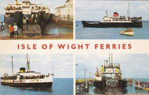ISLE OF WIGHT FERRIES; 4-Views, PU-1968