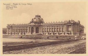 Belgium Tervuren Musee de Congo Belge Facade Principale