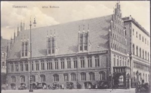 Hannover Germany -  old City Hall in Hannover 1910s
