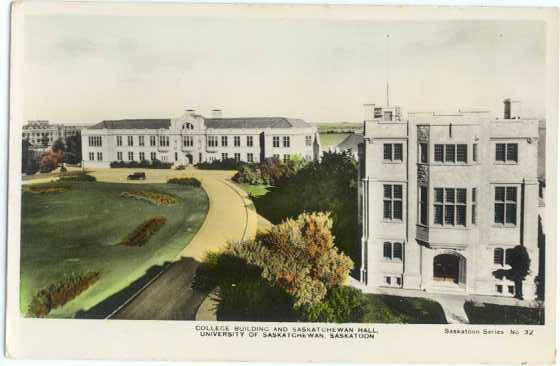 RPPC, College Building & Saskatchewan Hall, University at Saskatoon, Canada
