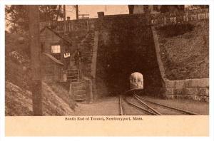Masschusetts Newburyport South End of Tunnel