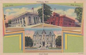 Massachusetts Fitchburg Post Office State Armory Court House