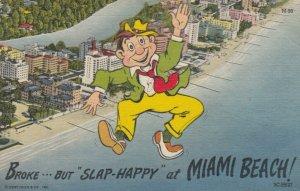 MIAMI BEACH , Florida , 1930-40s ; Broke...But Slap Happy