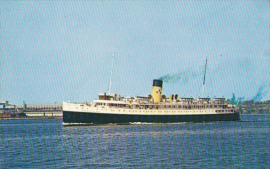 Canadian Pacific Ferry Princess Helene Digby Nova Scotia