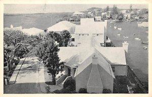 Bermuda Post card Old Vintage Antique Postcard Princess Hotel, The Cottage Co...