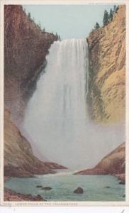 Lower Falls Yellowstone National Park Detroit Publishing