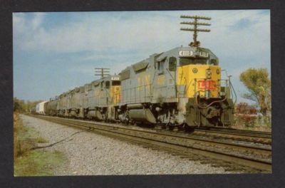 GA Louisville Nashville Railroad Train MARIETTA GEORGIA