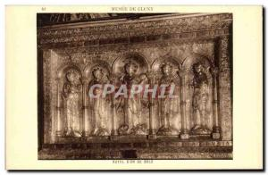 Old Postcard Paris Musee Cluny Altar d & # 39or Bale