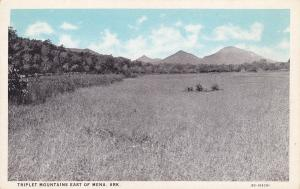 ARKANSAS, 1900-1910's; Triplet Mountains East Of Mena