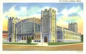 The Armory in Lewiston, Maine