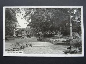 Lancashire CHORLEY Entrance to Astley Park - Old RP Postcard