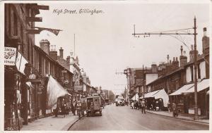 RP: High STreet , GILLINGHAM , UK , 00-10s