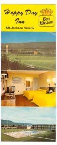 Happy Day Inn , MT JACKSON , Virginia , 40-60s : OVERSIZE