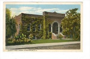 Kennedy Free Library, Spartanburg, South Carolina, PU-1919