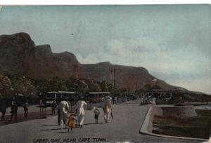 South Africa Camps Bay near Cape Town postcard