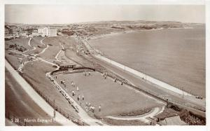 Vintage 1950s Real Photo Scarborough Postcard, North Bay and Marine Drive