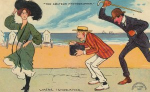 Where Ignorance is Bliss The Amateur Photographer , 1909 : Tom Browne