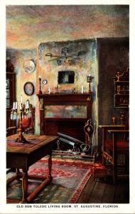 Florida St Augustine Old Don Toledo Living Room 36 Aviles Street