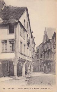 Vieilles Maisons De La Rue Des Cordeliers, Dinan (Côtes-d´Armor), France, 1...