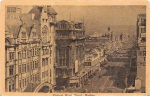 South Africa Durban Central West Street, animated, strasse, rue road, avenue
