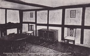 PEVENSEY, Sussex, England, PU-1919; Formerly King Edward VI's Bedroom, Terace...