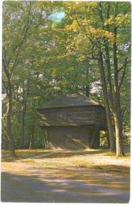 Pioneer Blockhouse, South Park, Mansfield, Ohio, OH, Chrome