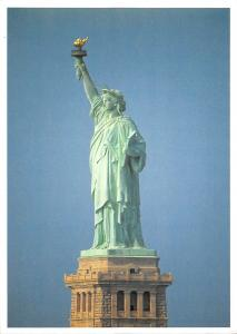 BR98733 the statue of liberty new york harbour usa