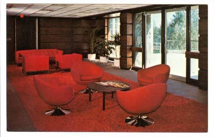 Shouldice Hospital, Hospital Reception Area, Thornhil, Ontario, Canada,  40-60s