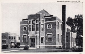 RANTOUL, Illinois, 1920-30s; Municipal Building