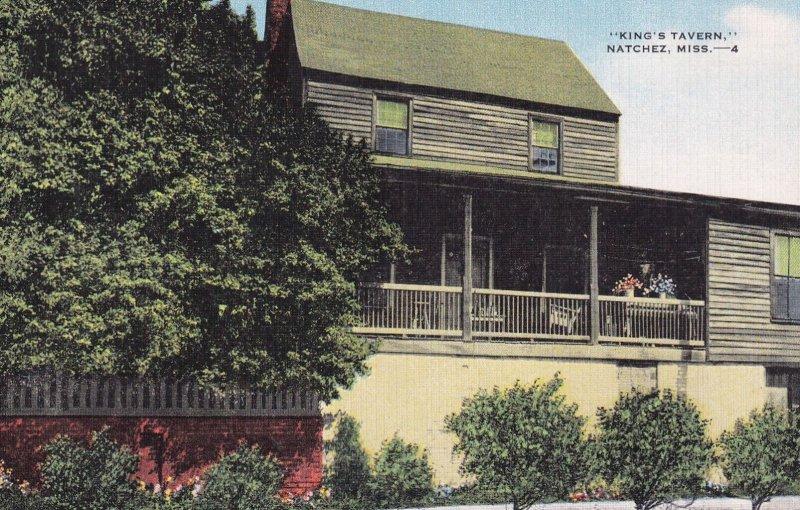 NATCHEZ, Mississippi, 1930-1940s; King's Tavern