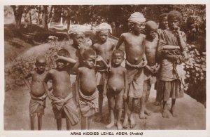 RP; ADEN, Yemen, 1910's; Arab Kiddies Lehej
