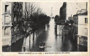 CPA PARIS INONDE Rue Saint-Charles Grenelle (562181)