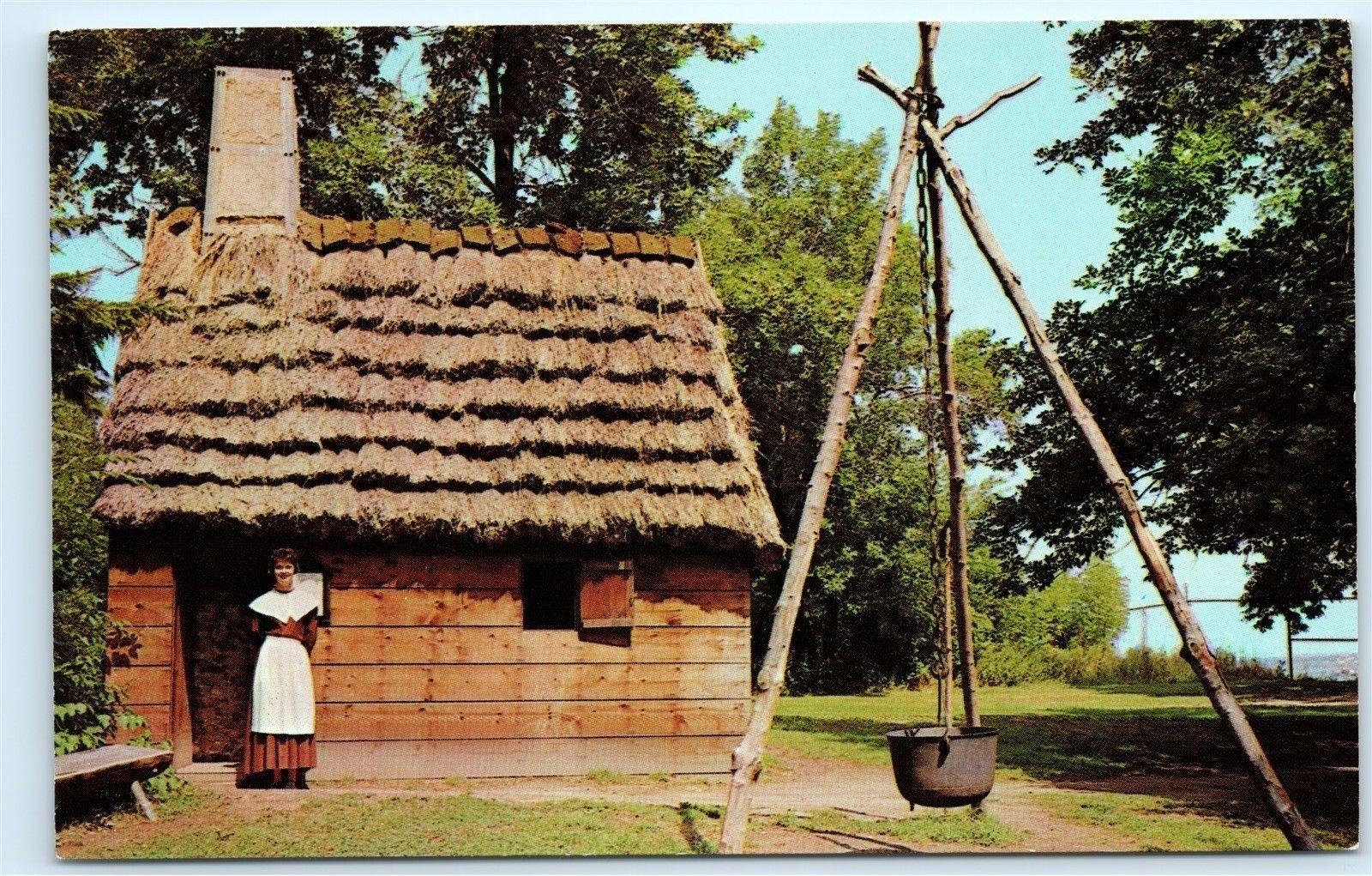 Lady Arbella House Pioneer Village Salem Massachusetts Postcard B41 Hippostcard