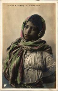 CPA Algerie & Tunisie Fillette Arabe Algerie (735536)