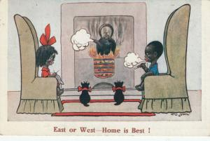 F.G. LEWIN: East or West--Home is Best! , 1922