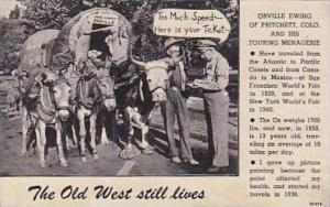 Colorado Pritchett Orville Ewing With Wagon Getting Ticket From Policeman Cur...