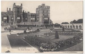 Berkshire; Windsor Castle, The East Terrace PPC By Levy, LL No 912, Unposted