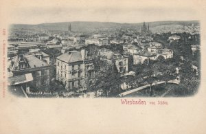 WIESBADEN, Hesse, Germany; 1890s ; Von Suden