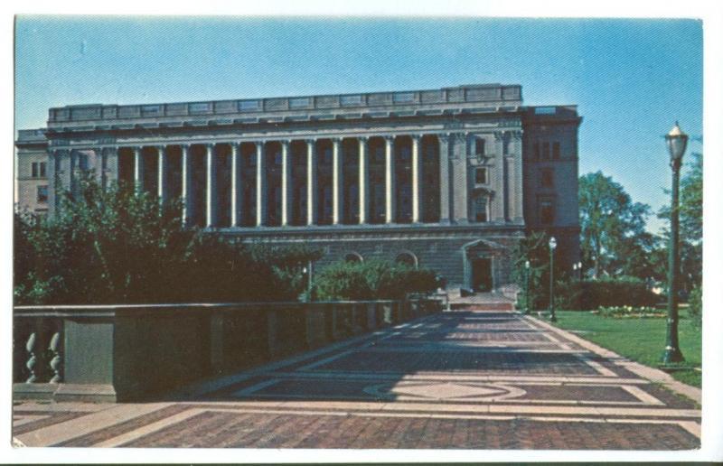 The Centennial Building in Springfield, Illinois, Postcard
